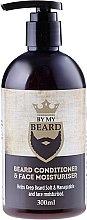 Parfums et Produits cosmétiques Baume hydratant à l'huile d'avocat et menthol pour barbe et visage - By My Beard Beard Care Conditioner