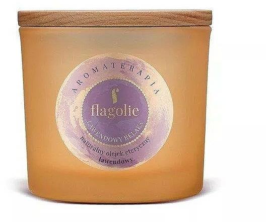 Bougie parfumée à l'huile essentielle de lavande - Flagolie Fragranced Candle Lavender Relax — Photo N1