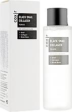 Parfums et Produits cosmétiques Lotion tonique nourrissante à la bave d'escargot et collagène pour visage - Coxir Black Snail Collagen Toner
