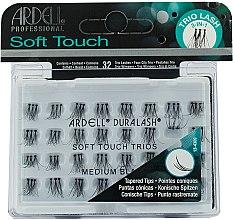 Parfums et Produits cosmétiques Faux-cils individuels moyens trio, 32 pcs - Ardell Soft Touch Trio Individuals Medium