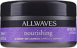 Parfums et Produits cosmétiques Masque à l'extrait de myrtille et calendula pour cheveux - Allwaves Blueberry And Calendula Nourishing Mask