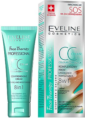 CC crème apaisante et hydratante - Eveline Cosmetics Therapy