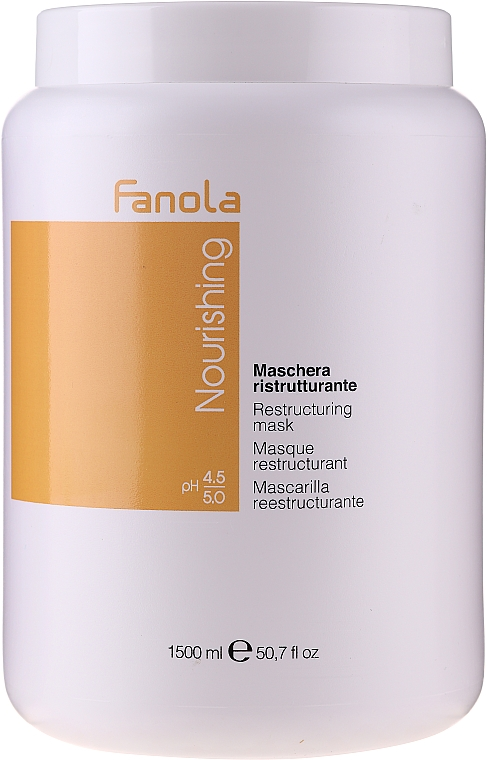 Masque aux protéines de lait pour cheveux - Fanola Nourishing Restructuring Mask
