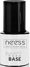 Parfums et Produits cosmétiques Base coat pour vernis semi-permanent, transparent - Neess Extremely Hard Base