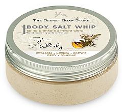 Parfums et Produits cosmétiques Mousse de douche au sel, Tabac et whisky - The Secret Soap Store Tobacco And Whiskey Body Salt Whip