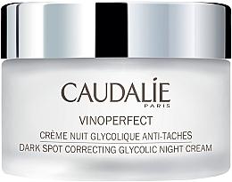 Parfums et Produits cosmétiques Crème de nuit à l'acide glycolique - Caudalie Vinoperfect Brightening Glycolic Night Cream