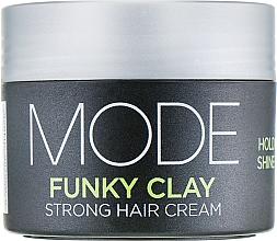 Parfums et Produits cosmétiques Crème coiffante à l'argile blanche - Affinage Mode Funky Clay