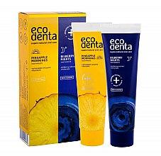 Parfums et Produits cosmétiques Ecodenta - Set jour et nuit (dentifrice/100ml + dentifrice/100ml)