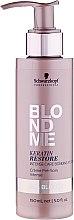 Parfums et Produits cosmétiques Crème pré-soin intense à la kératine pour cheveux blonds - Schwarzkopf Professional BlondMe Keratin Restore Intense Care Bonding Potion