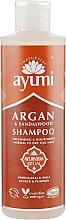 Parfums et Produits cosmétiques Shampooing à l'huile d'argan et bois de santal - Ayumi Argan & Sandalwood Shampoo