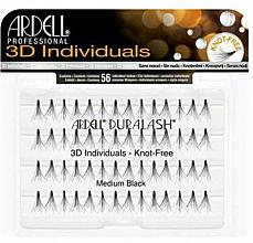 Parfums et Produits cosmétiques Faux-cils individuels - Ardell Duralash 3D Individuals Medium Black 75942