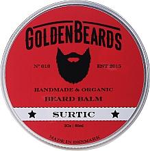 Parfums et Produits cosmétiques Baume à barbe bio, Surtic - Golden Beards Beard Balm