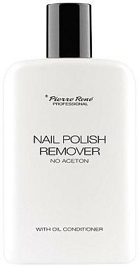 Dissolvant pour vernis à ongles - Pierre Rene Nail Polish Remover With Oil Conditioner