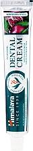 Parfums et Produits cosmétiques Dentifrice ayurvédique au fluor naturel - Himalaya Herbals Ayurvedic Dental Cream