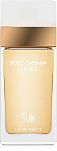 Parfums et Produits cosmétiques Dolce&Gabbana Light Blue Sun Pour Femme - Eau de Toilette