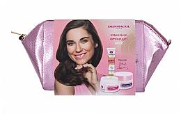 Parfums et Produits cosmétiques Coffret cadeau - Dermacol Collagen+ (d/f/cr/50ml + n/f/cr/50ml + f/serum/12ml + bag)