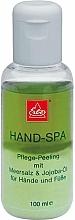Parfums et Produits cosmétiques Gommage au sel de mer et huile de jojoba pour mains - Erbe Solingen Hand-Spa
