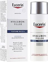 Parfums et Produits cosmétiques Crème de nuit à l'urée 5% et acide hyaluronique - Eucerin Hyal-Urea Night Creme