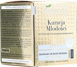 Parfums et Produits cosmétiques Crème de jour et nuit à l'extrait de bave d'escargot et Or 24K - Bielenda Kuracja Mlodosci Cream 50+