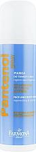 Parfums et Produits cosmétiques Mousse régénérante et apaisante au jus d'aloe vera pour visage et corps - Farmona Panthenol Face and Body Foam in Spray Sunburns