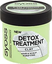 Traitement à l'argile pour cheveux et cuir chevelu - Syoss Detox Treatment Clay — Photo N1