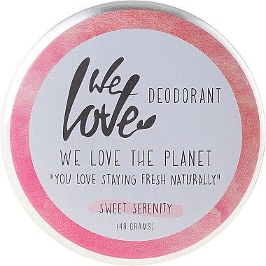 Déodorant crème naturel Sweet Serenity - We Love The Planet Deodorant Sweet Serenity — Photo N1