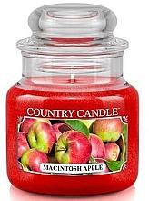 Parfums et Produits cosmétiques Bougie parfumée en jarre, Pomme McIntosh - Country Candle Macintosh Apple