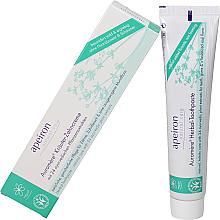 Parfums et Produits cosmétiques Dentifrice aux 24 extraits de plantes ayurvédique - Apeiron Auromere Herbal Toothpaste