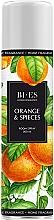 Parfums et Produits cosmétiques Spray d'ambiance, Orange et épices - Bi-Es Home Fragrance Orange & Spieces Room Spray