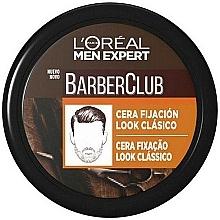 Parfums et Produits cosmétiques Cire coiffante, fixation légère - L'Oreal Men Expert Barber Club Soft Hold Wax