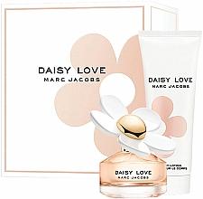Parfums et Produits cosmétiques Marc Jacobs Daisy Love - Coffret (eau de toilette/100ml + lotion corporelle/75ml)