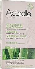 Parfums et Produits cosmétiques Bandes de cire froide à l'aloe vera pour corps - Acorelle Hair Removal Strips