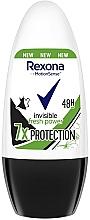 Parfums et Produits cosmétiques Déodorant roll-on - Rexona Invisible Fresh Power