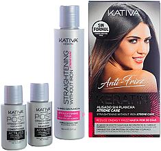 Parfums et Produits cosmétiques Coffret cadeau - Kativa Anti-Frizz Straightening Without Iron Xtreme Care