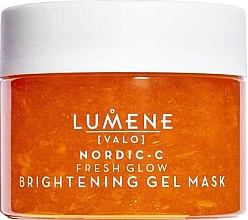 Parfums et Produits cosmétiques Gel-masque à la vitamine C pour visage - Lumene Valo Nordic-C Fresh Glow Brightening Gel Mask