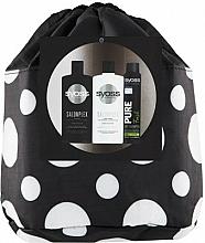 Parfums et Produits cosmétiques Syoss Salon Plex - Set (shampooing/500ml + après-shampooing/500ml + shampooing sec/200ml + trousse de toilette)
