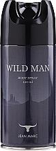 Parfums et Produits cosmétiques Jean Marc Wild Man - Déodorant spray