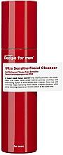 Parfums et Produits cosmétiques Gel nettoyant à l'extrait de concombre pour visage - Recipe For Men Ultra Sensitive Facial Cleanser