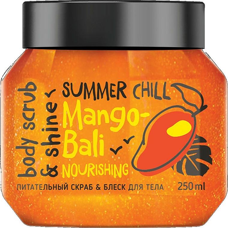 Gommage au beurre de mangue pour corps - MonoLove Bio Mango-Bali Nourishing