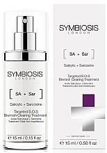 Parfums et Produits cosmétiques Traitement à l'acide salicylique pour visage - Symbiosis London Targeted S.O.S Blemish Clearing Treatment