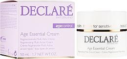 Crème à l'extrait de pivoine pour visage - Declare Age Control Age Essential Cream — Photo N1