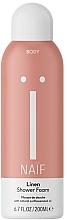 Parfums et Produits cosmétiques Mousse de douche, Lin - Naif Linen Shower Foam