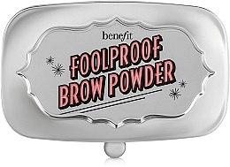 Parfums et Produits cosmétiques Poudre sourcils fini - Benefit Foolproof Brow Powder