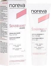 Parfums et Produits cosmétiques Crème à l'extrait de figue pour visage - Noreva Laboratoires Sensidiane Legere Soothing Cream Normal Skin