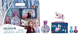 Parfums et Produits cosmétiques Disney Frozen II - Set (eau de toilette/50ml + vernis à ongles/2x5ml + trousse de toilette)
