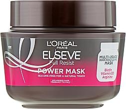 Parfums et Produits cosmétiques Masque à la vitamine B5 pour cheveux - L'Oreal Paris Elseve Full Resist Power Mask