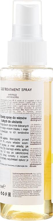 Spray anti-frisottis à l'huile d'amande et d'avocat pour cheveux - Ikoo Infusions Duo Treatment Spray Anti Frizz — Photo N2