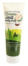 Parfums et Produits cosmétiques Gommage à l'extrait de thé vert pour corps - Elizavecca Body Care Milky Piggy Greentea Salt Body Scrub