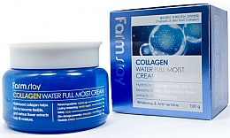 Parfums et Produits cosmétiques Crème anti-rides au collagène pour visage - FarmStay Collagen Water Full Moist Cream