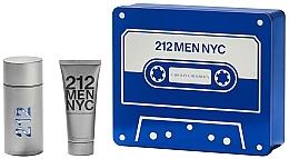 Parfums et Produits cosmétiques Carolina Herrera 212 Men NYC - Coffret (eau de toilette/100ml + gel douche/100ml)